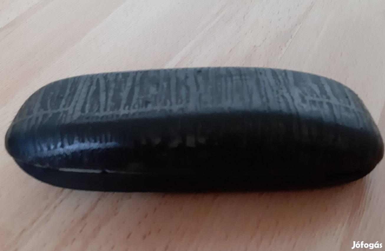 Fekete borítású Szemüveg tartó tok, 1. Kép