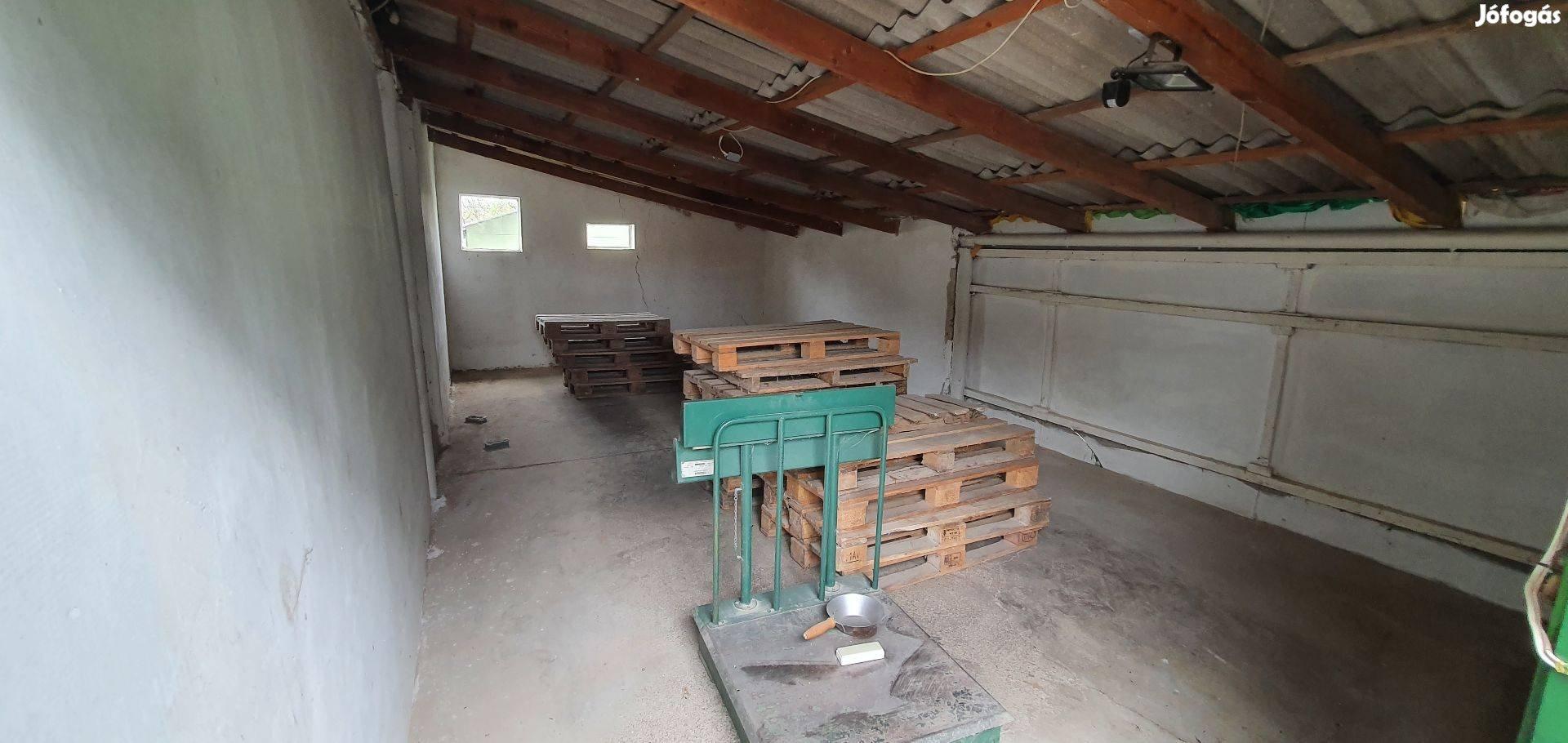 Felsőjózsán 20 m2-es üzlethelyiség 33 m2-es raktárral kiadó