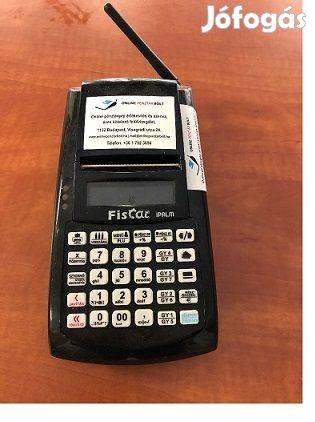 Fiscat Ipalm Online Pénztárgép Fekete Színű Használt GPS A195
