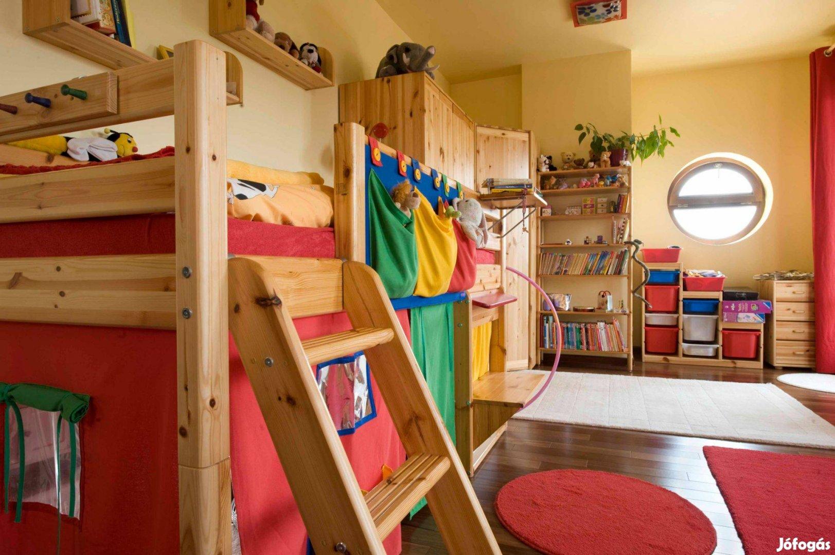 Flexa gyerekbútorok - 2 nagy szoba teljes berendezése
