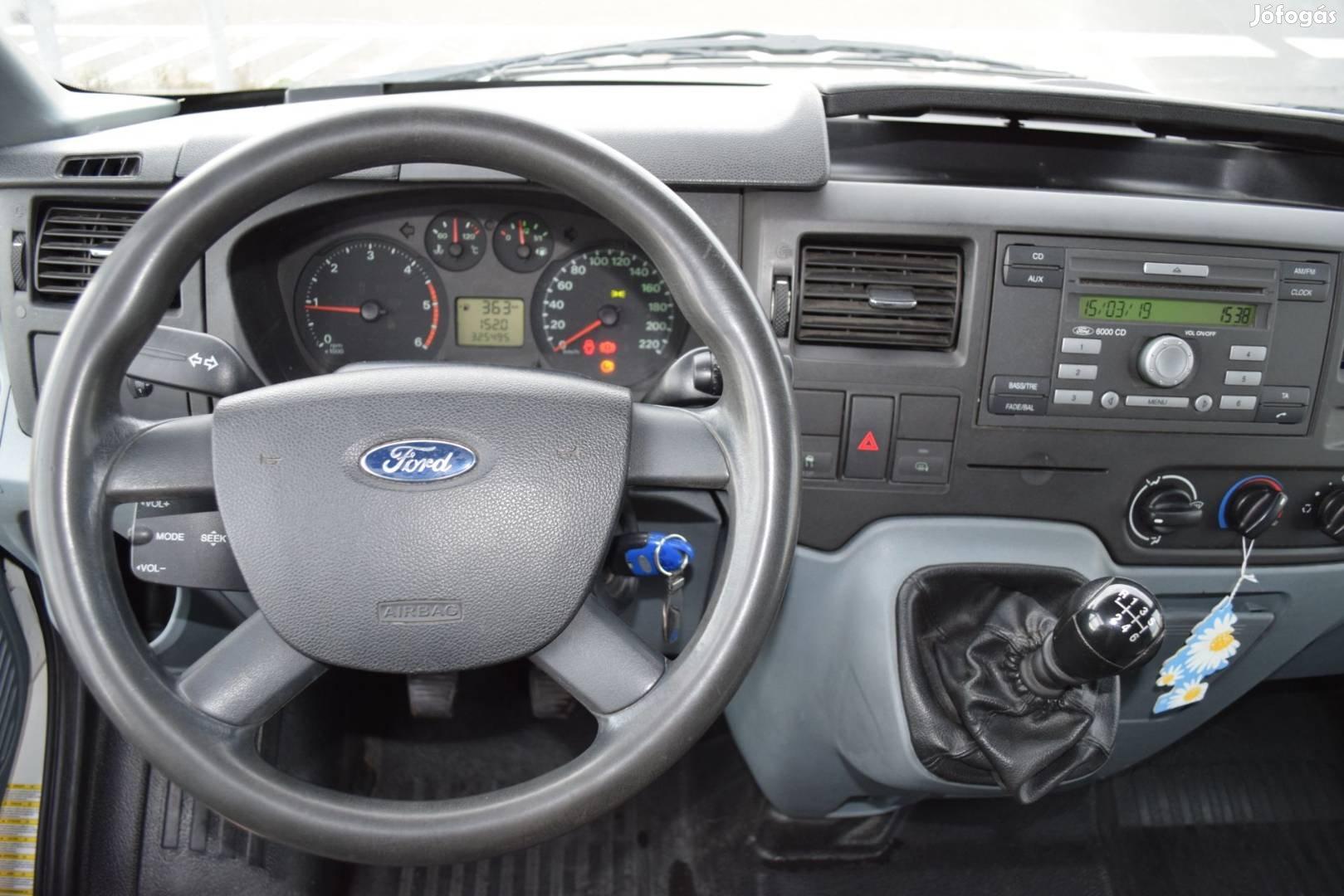 Ford Transit 2.2TDCI 300L trend 270 fokba!!! nyíló hátsó ajtóval eladó, 5. Kép