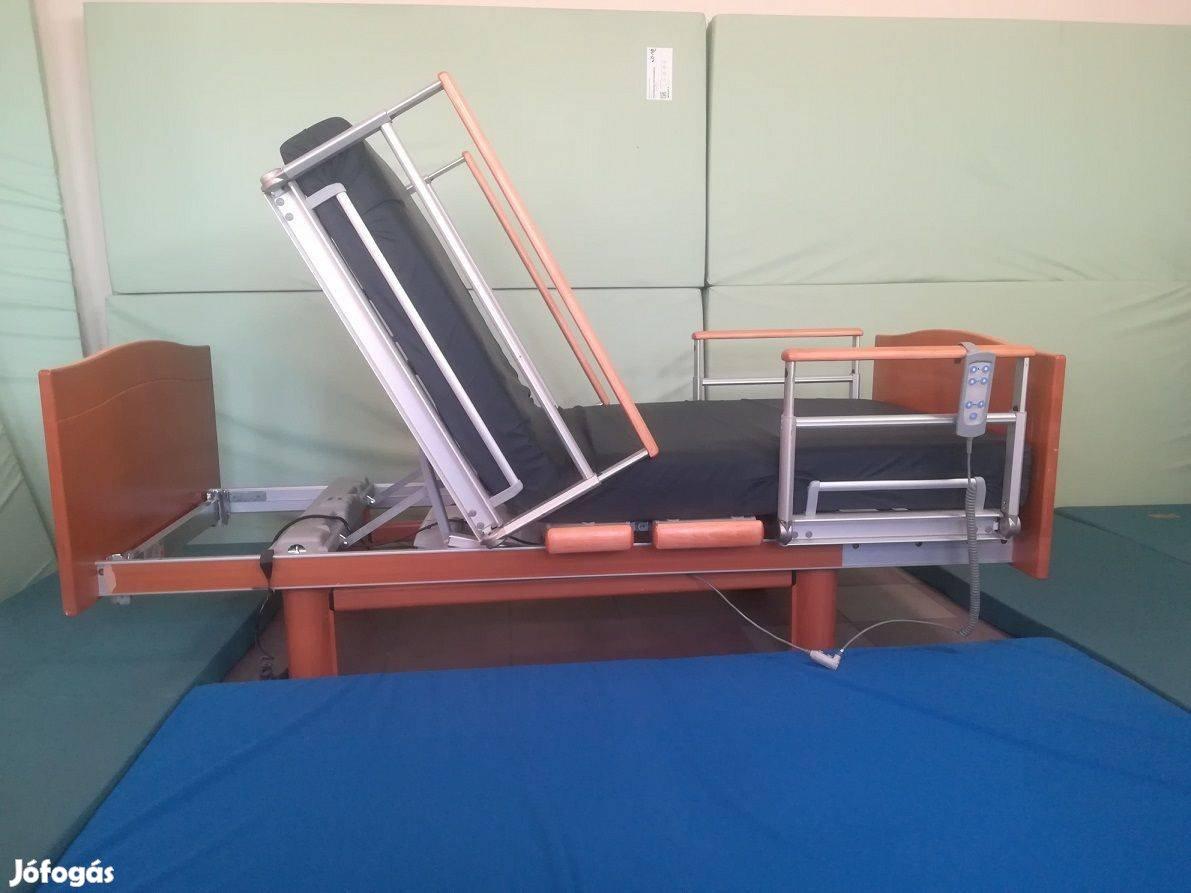 Fotelszerű elektromos betegágy kórházi ápolási beteg ágy gyógyágy