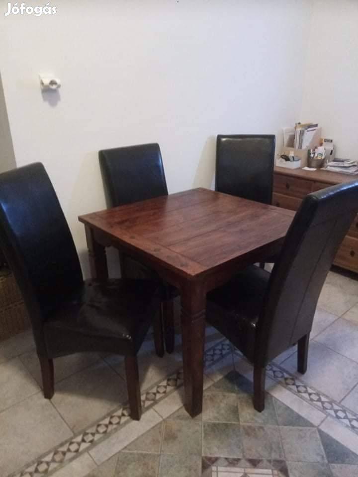 Fredericia asztal Bakkeli székekkel (Jysk) eladók