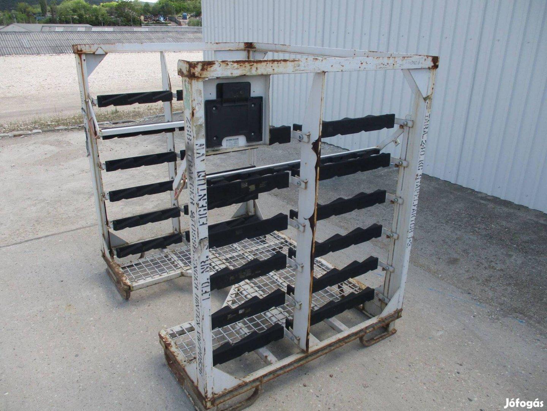 Gitterbox rácsos kaloda konténer eladó Tároló (1071)