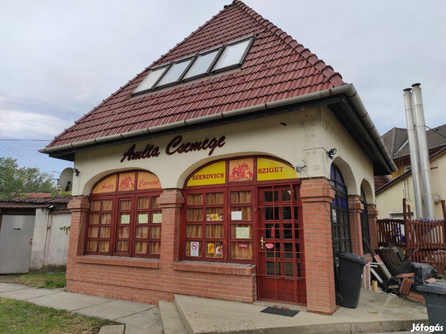 Gyulán eladó pékség, a hozzátartozó üzlethelyiséggel és lakásokkal