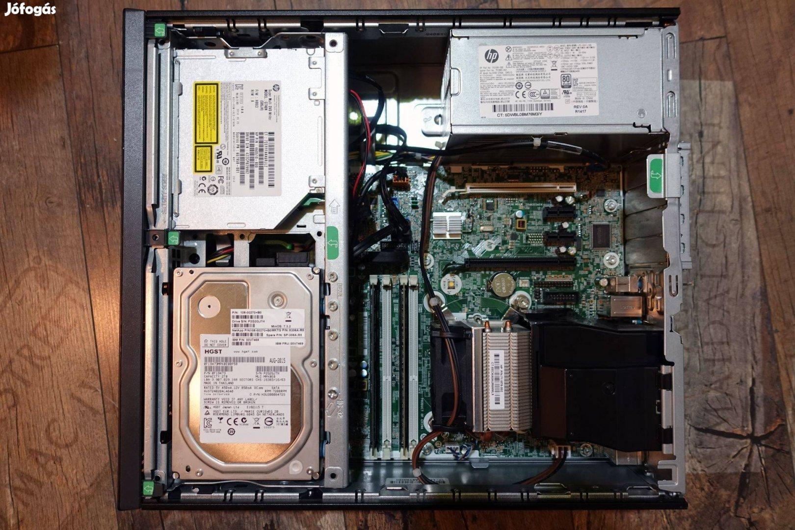 HP Elitedesk 800 G1 Sff - i5-4570 / 8GB DDR3 / 1TB HDD / Intel HD 460