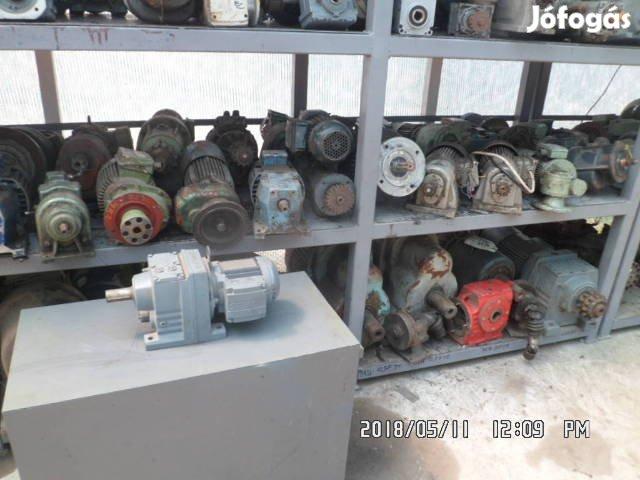 Hajtóműves villanymotor, 3. Kép