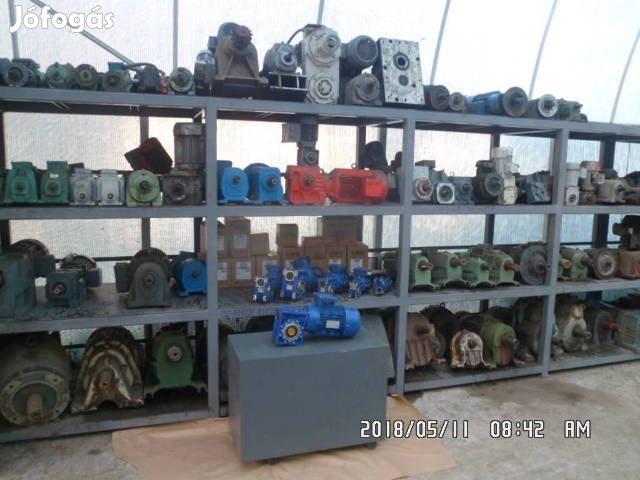 Hajtóműves villanymotor
