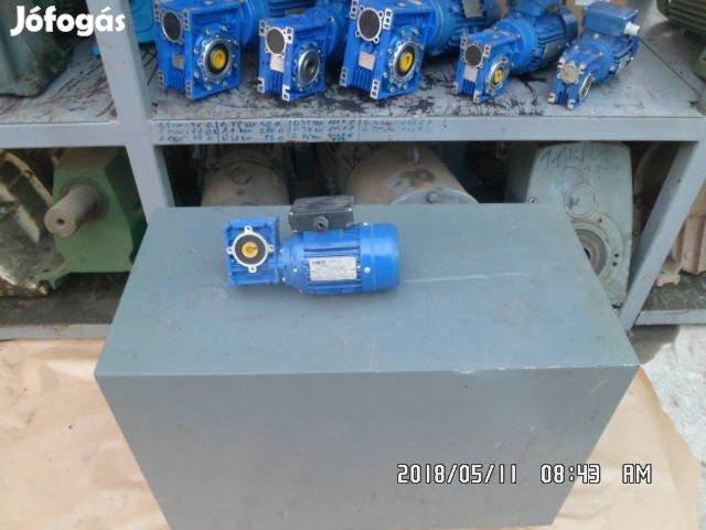 Hajtóműves villanymotor, 220 V.-os, új