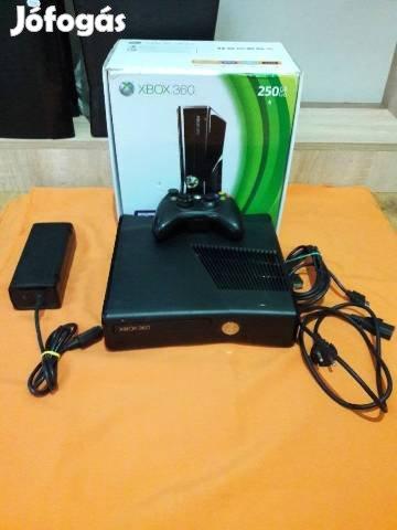 Használt Xbox360 Slim 250 GB,üzletből, 3 hó garancia