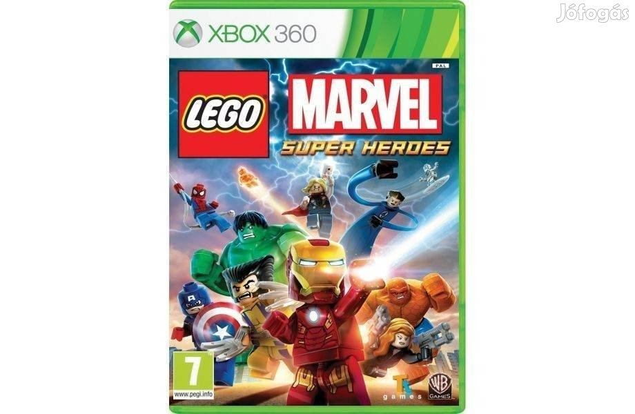 Használt Xbox 360 Játék LEGO Marvel Super Heroes