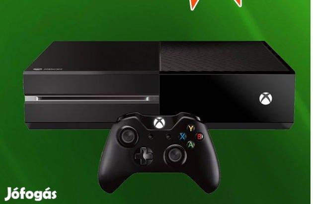 Használt Xbox One 500 GB konzol, 3 hó garival üzletből