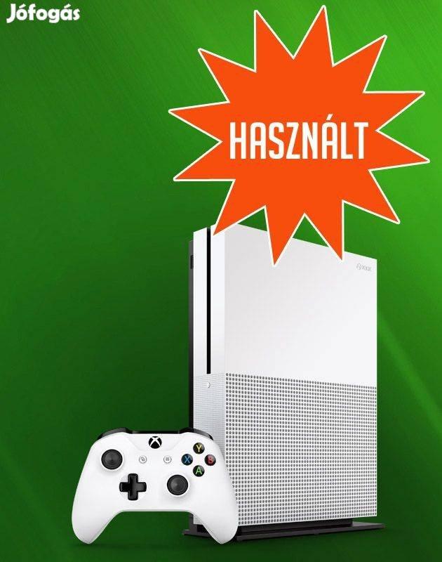 Használt Xbox One S 1TB konzol üzletből, garanciával