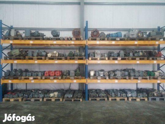 Használt és új hajtóművek, hajtóműves villanymotorok nagy választékban
