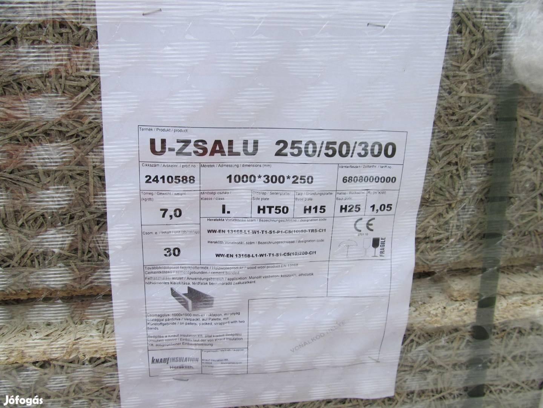 Heratekta U-zsalu 250 x 50 x 300 mm 4.310,- / darab