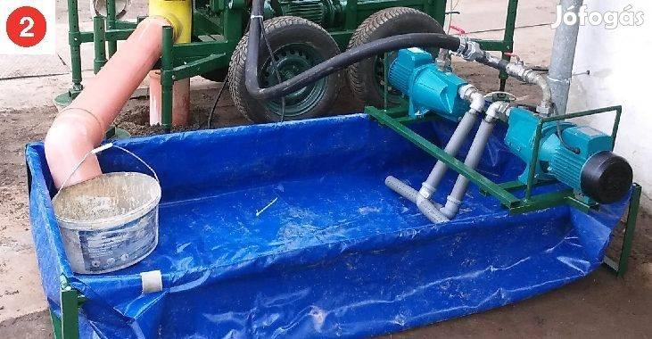 Hidraulikus kútfúrógép eladó