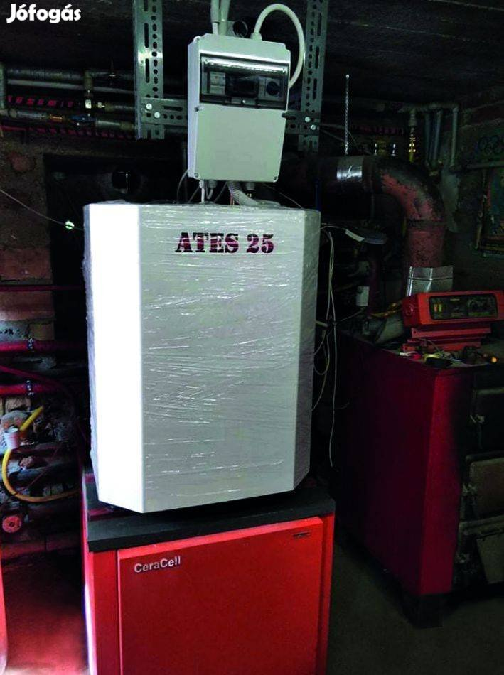 Hőforrás (kazán) cseréjét bizzad az ATES hőszivattyúra
