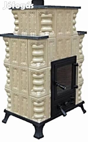 Hordozható erdélyi cserépkályha 6-12 kW teljesítménnyel