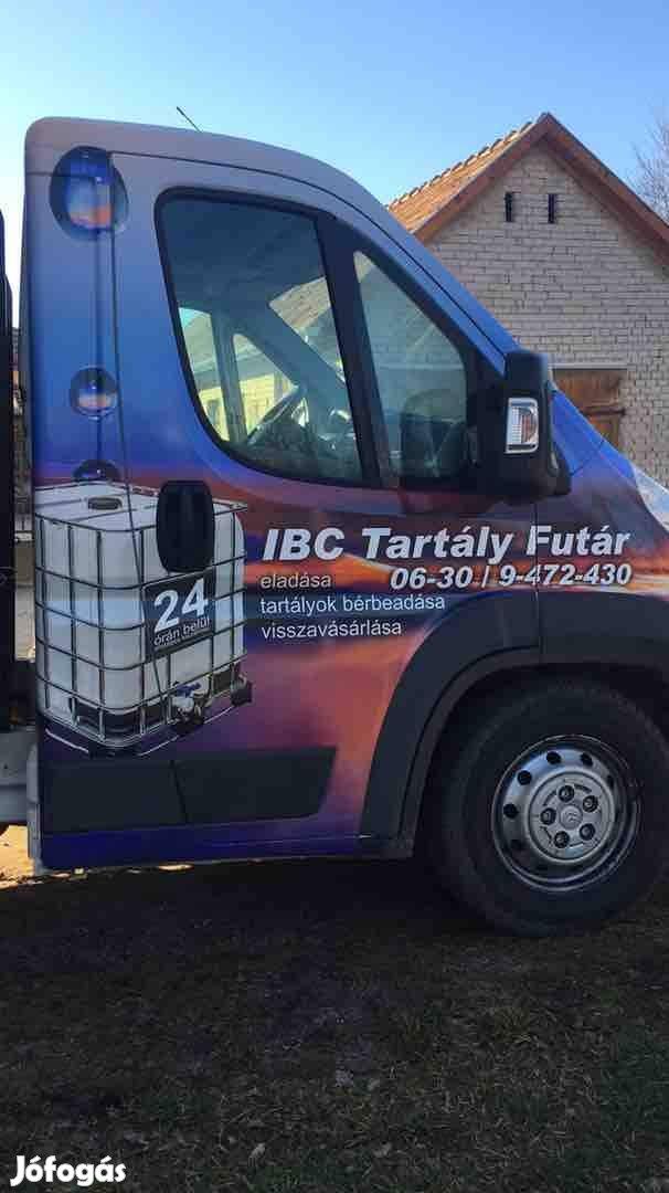 IBC 1000 Liters tartályok