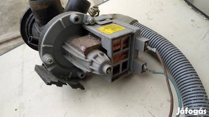 Indesit mosógép motor, szivattyú, 5. Kép