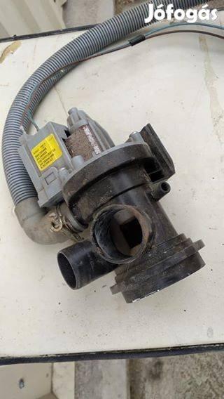 Indesit mosógép motor, szivattyú, 7. Kép