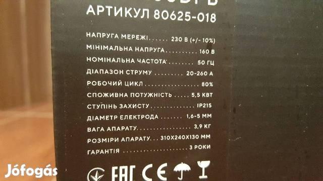 Inverteres Dnipro 260 Dpb Orosz inverter 3Év Garancia!hegesztő Brutál, 7. Kép