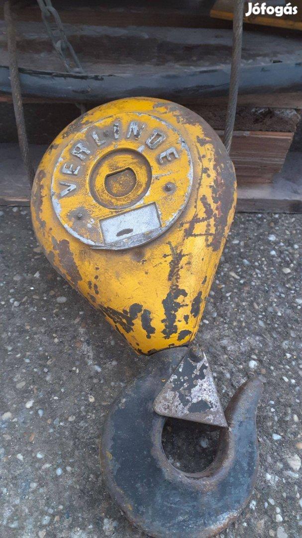 Ipari daru, Verlinde 750kg thr futómacska drótköteles emelő /ct.921/