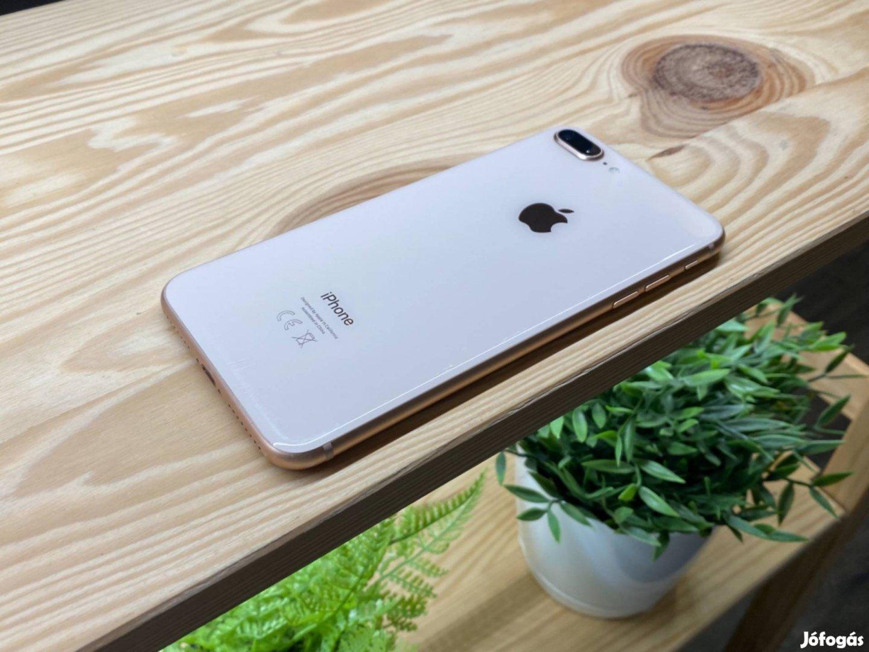 Iphone 8 Plus Gold 256gb Kártyafüggetlen Garanciával Számlával