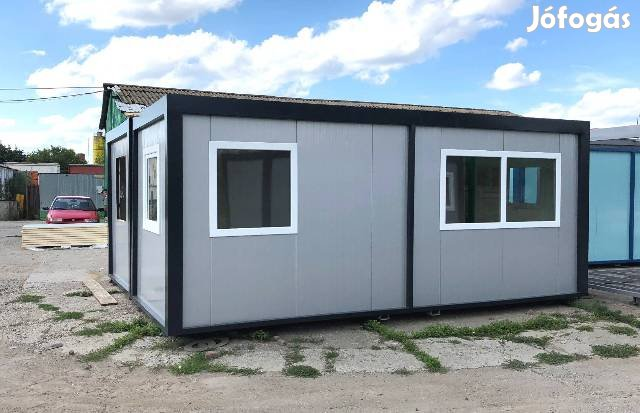 Iroda konténer irodakonténer raktár mosdó alvó saniter üzlet konténere