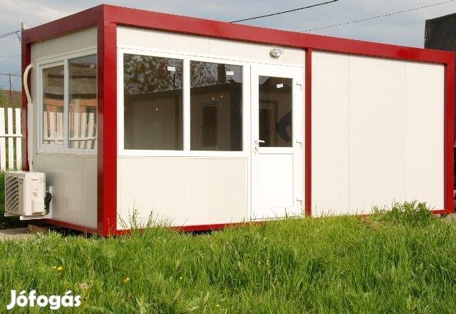 Irodakonténer alvó őr mosdó kapus olcsó iroda konténer konténerek, 1. Kép