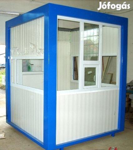 Irodakonténer alvó őr mosdó kapus olcsó iroda konténer konténerek, 2. Kép