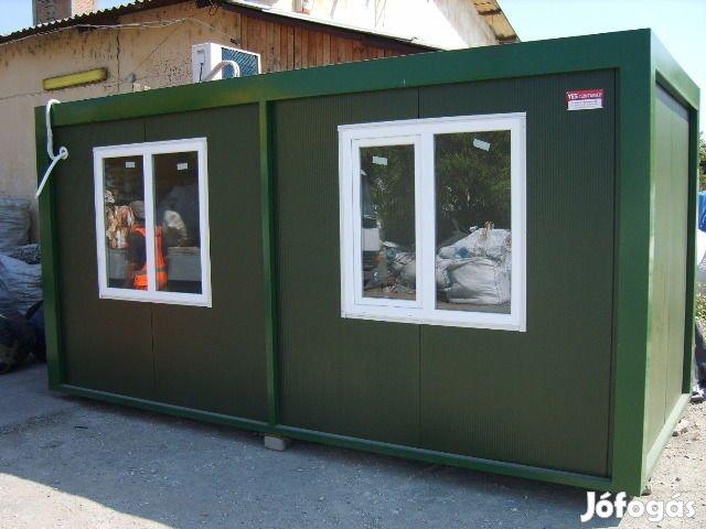 Irodakonténer alvó őr mosdó kapus olcsó iroda konténer konténerek, 6. Kép