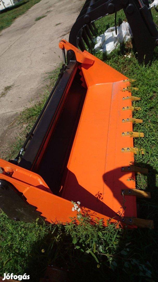 JCB 3CX 500 literes betonkeverő kanál hidraulikus suberrel