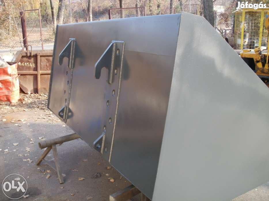 JCB 535-95 rakodógép trágyavilla, termény és betonkeverőkanál eladó