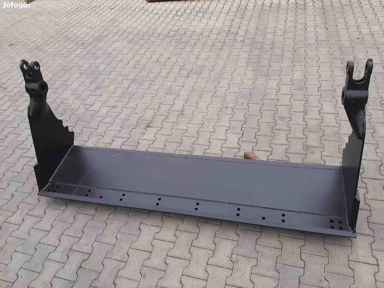 Jcb 3CX nyitható homlokrakodó kanál koptató