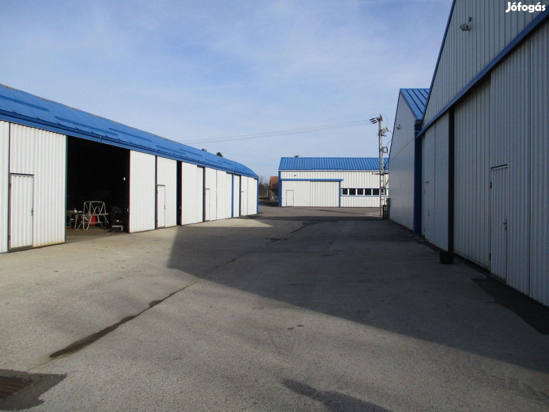Kaposvár környéki hűtőház, gépparkkal!