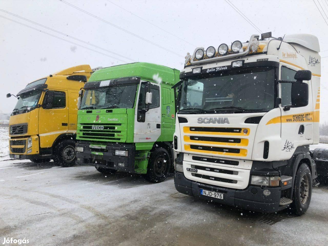 Keresek: Kamionok, vontatók, teherautók, 1. Kép