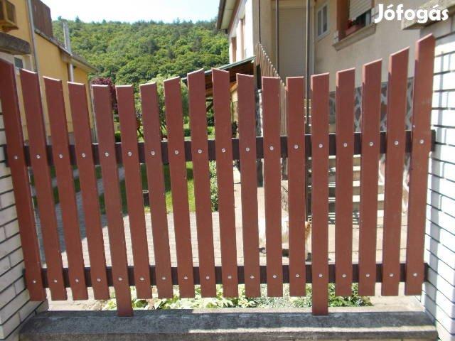 Kerítés, kerítésléc, gondozás mentes műanyag kerítés!