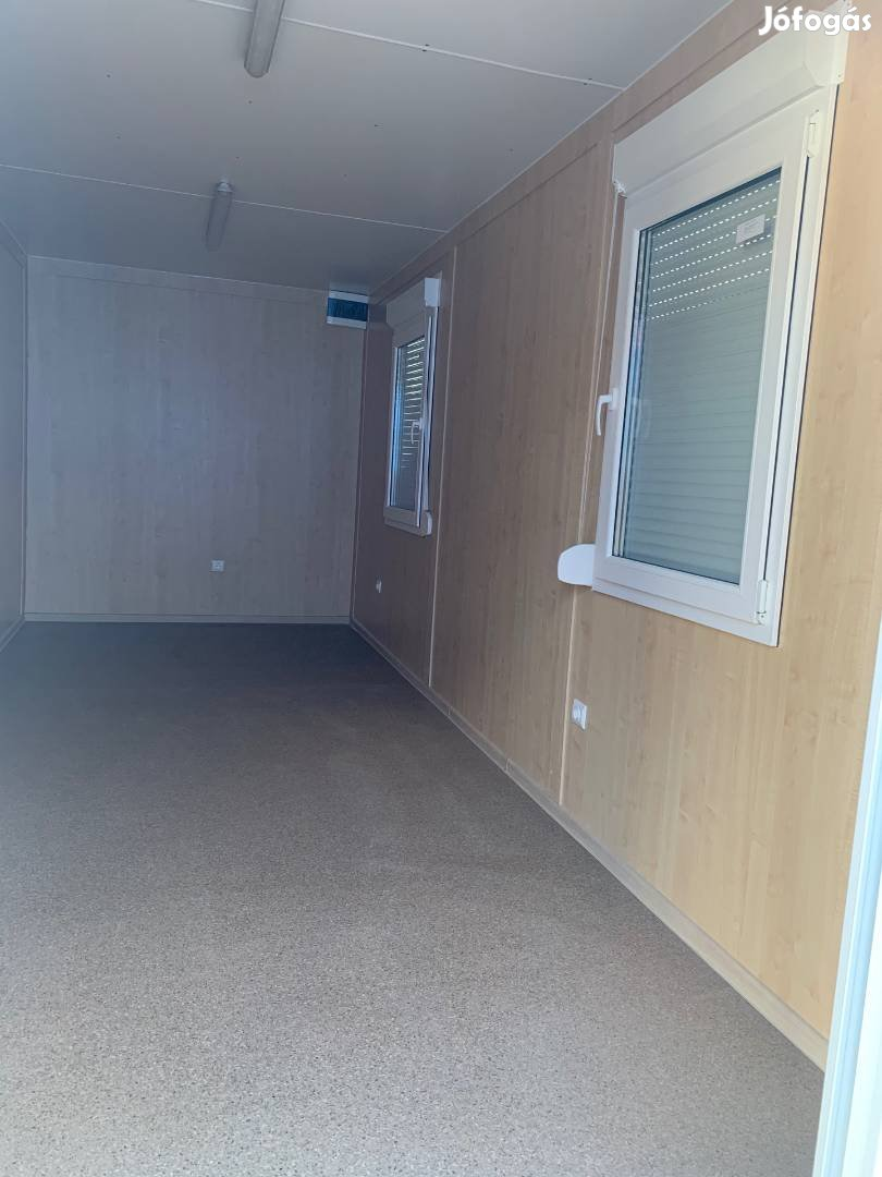 Készletről eladó Új konténer irodakonténer lakókonténer szigetelt 6mét