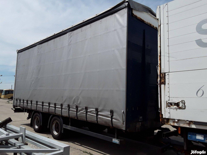 Kögel tandem rolós, függönyös 18 tonnás pótkocsi