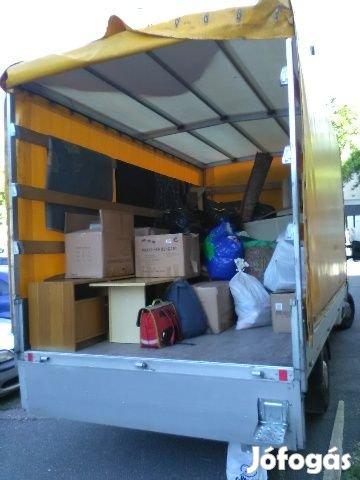 Költöztetés, belföldi-nemzetközi fuvarozás, Győr