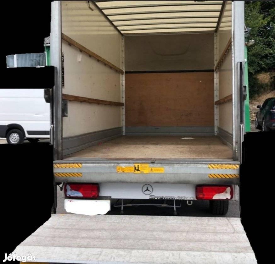 Költöztetés szállitás teherfuvarozás