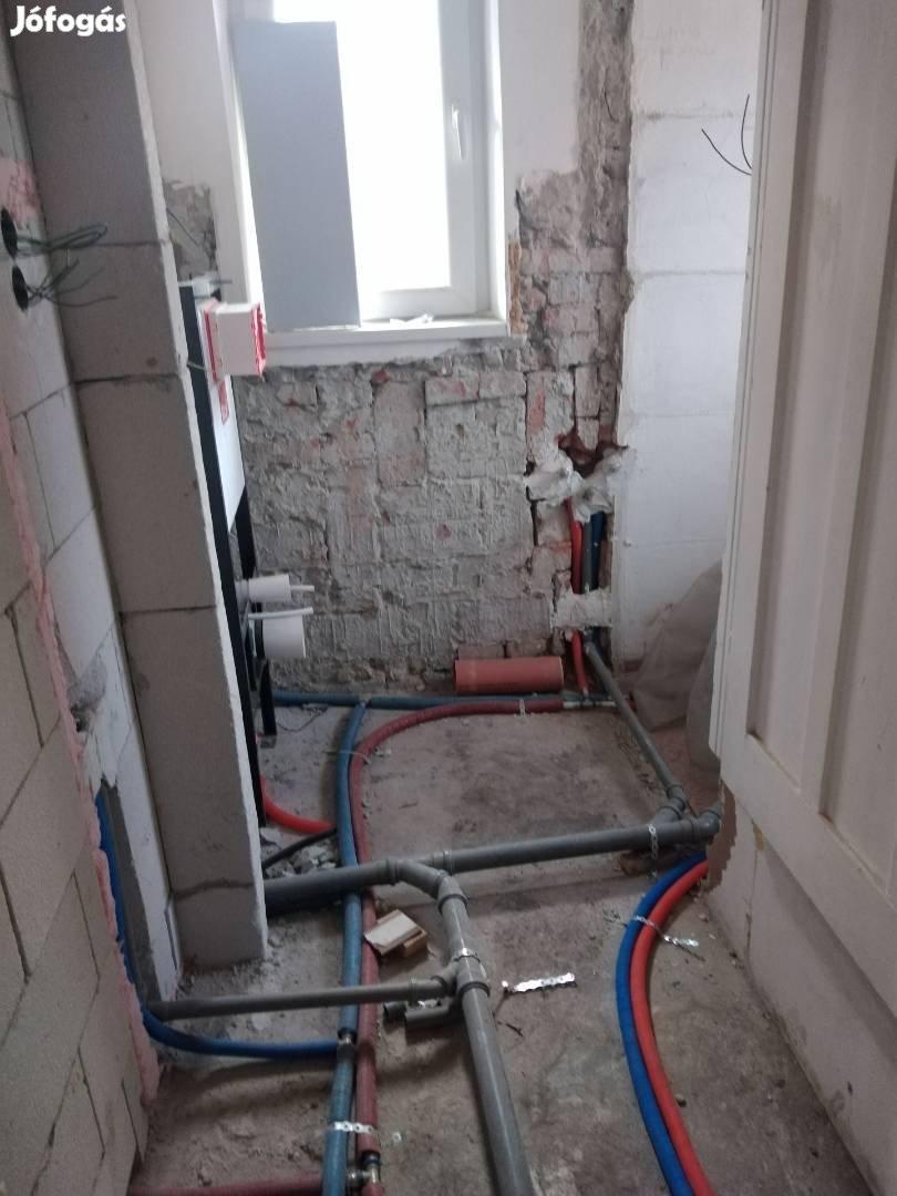Kőműves, burkolás, gipszkartonozás, festés, víz-gáz, lakásfelújítás
