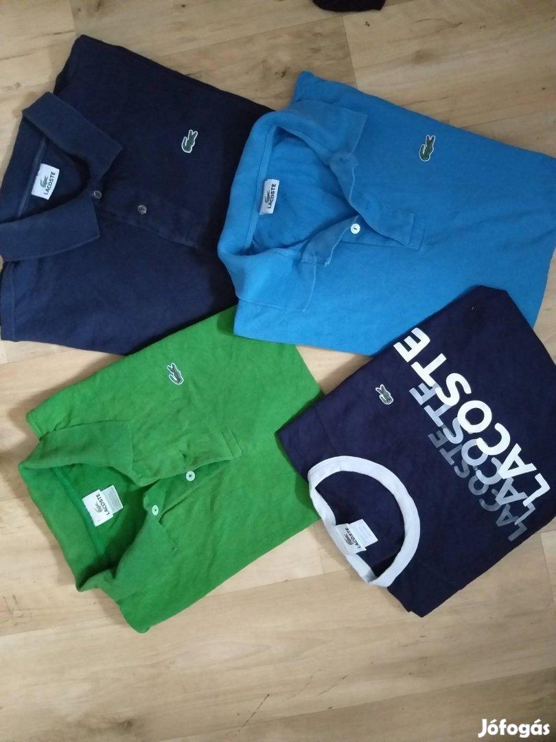 Lacoste férfi pólók többféle méretben , 1. Kép