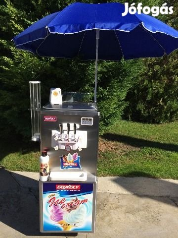 Lágyfagylaltgépek, lágyfagylaltgép, csavaros fagyigép Akciósan !!!