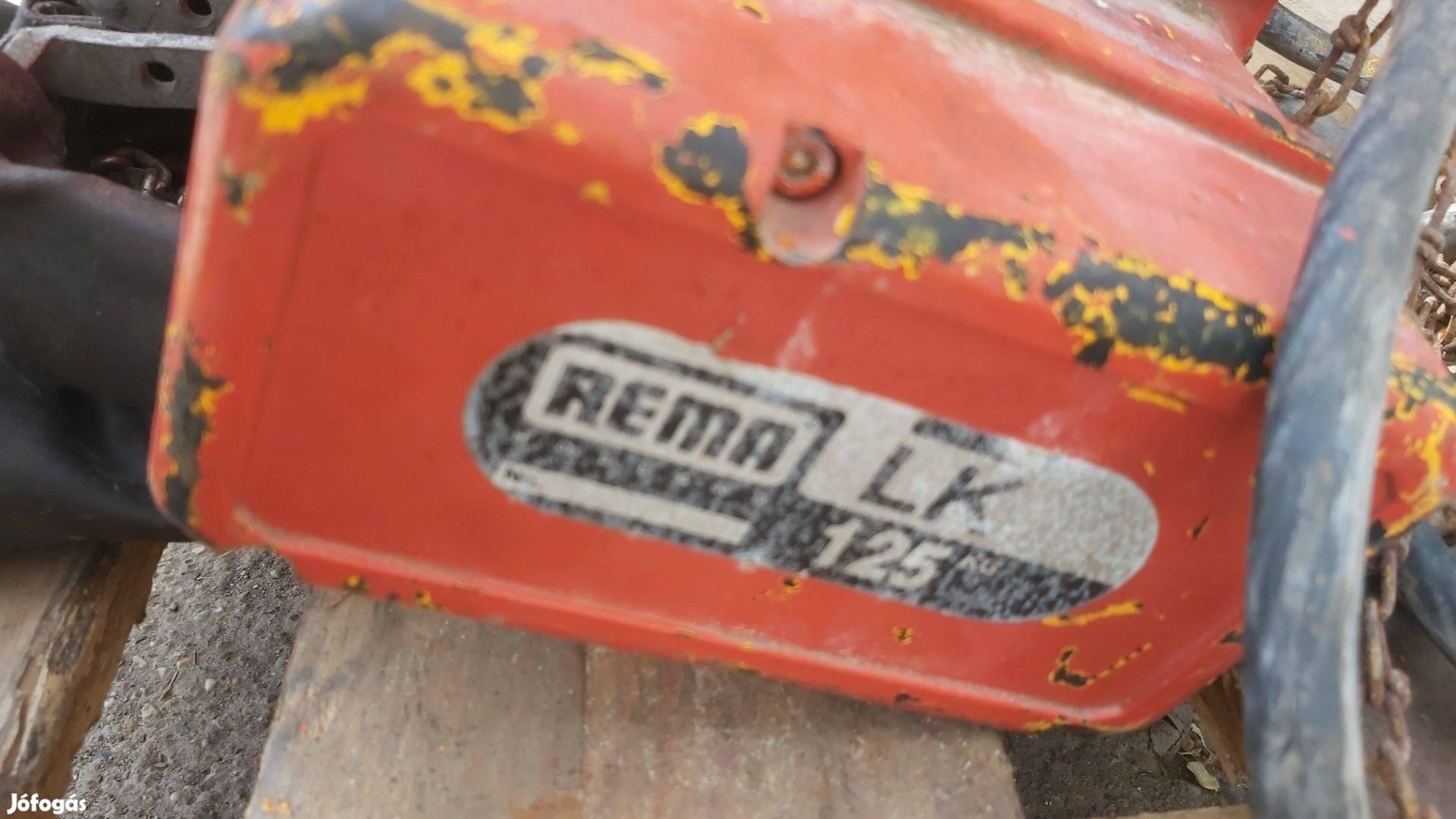 Láncos emelő, ipari daru Rema LK 125kg, em.mag. 3,2m /ct809/