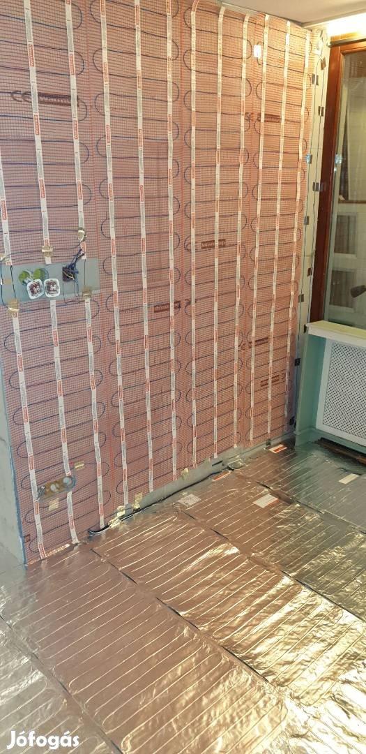 Legolcsóbb elektromos padlófűtés 1,3m2