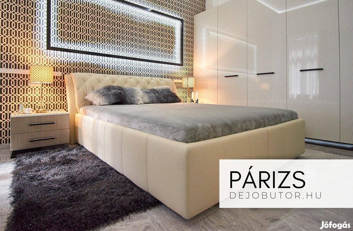 Luxus franciaágy igényes kialakítás ágykeret + ágybetét vagy ágyrács