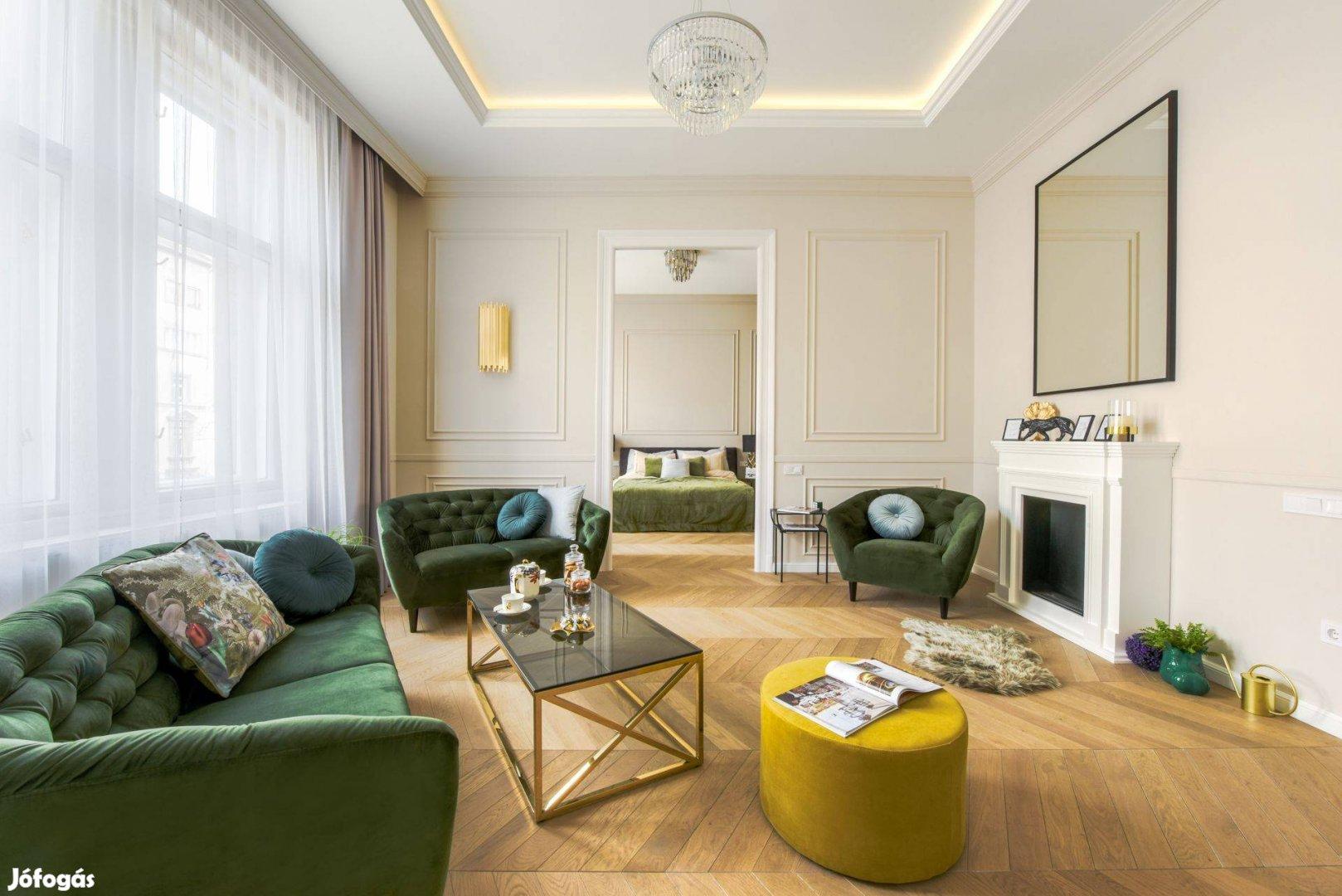 Luxus lakás eladó a Gellért Térnél