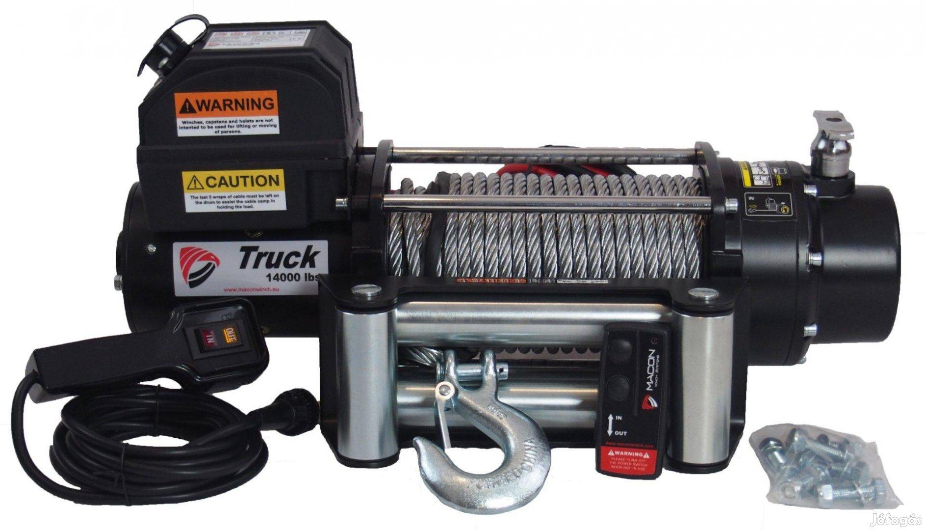 Macon Winch Truck 14000 profi elektromos csörlő